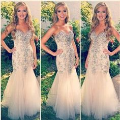 Charming prom dress,strapless prom dress,beading prom dress,mermaid prom dress,sexy prom dress,pd160007  #fashion#promdress#eveningdress#promgowns#cocktaildress