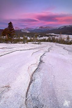 Over the River and Through the Woods - Pothole Dome, Tuolumne Meadows, Yosemite National Park
