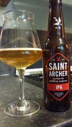 Saint Archer IPA #craftbeer #realale #ale #beer #beerporn #beerlove #Beergasm…