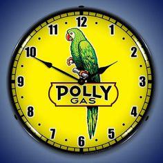 Polly Gasoline II 14 Backlit Lighted by HomeDecorGarageArt on Etsy
