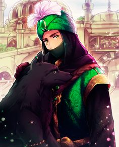 APH: 2P Ottoman Empire and black wolf by Kagome-Inuyashkina on DeviantArt