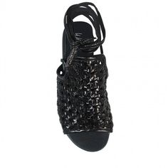 Wittner Premo Sandal Black Leather