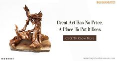 Enjoy the Driftwood Art  #Driftwood #Art #sculpture #museum  https://www.bayislandmuseum.com/