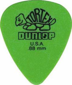 Dunlop Standard Tortex Picks, 12 Pack, Green, .88mm by Jim Dunlop, http://www.amazon.com/dp/B0002GX7XY/ref=cm_sw_r_pi_dp_UPLkqb01A1D7P