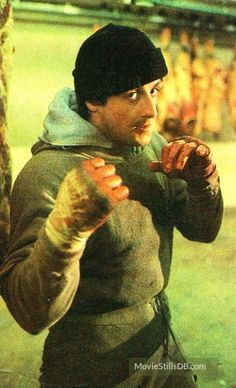 Rocky - Publicity still of Sylvester Stallone Rocky Sylvester Stallone, Rocky Stallone, Rocky Series, Rocky Film, Rocky Balboa Poster, Silvester Stallone, Culture Pop, About Time Movie, American Actors