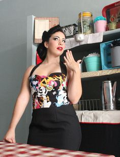 Hey, I found this really awesome Etsy listing at http://www.etsy.com/listing/107730266/pin-up-tattooed-girls-dress