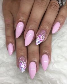 This series deals with many common and very painful conditions, which can spoil the appearance of your nails. SPLIT NAILS What is it about ? Nails are composed of several… Continue Reading → Dream Nails, Love Nails, Pink Nails, Glitter Nails, My Nails, Pink Summer Nails, Confetti Nails, Cute Acrylic Nails, Stylish Nails