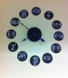 black poster board, white paint pen and hl clock kit. Classroom Clock, Classroom Design, School Classroom, Classroom Decor, Make School, Middle School, High School, Dream School, White Paint Pen