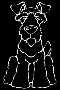 Do you love your Welsh Terrier? Then a dog decal from Decal Dogs is what you need to celebrate your best friend. Every Dog Has Its Decal! The decal measures 4 in. x 6 in. and can be applied to most sm