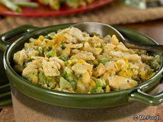 Creamy Corn-Broccoli Bake