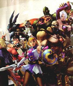 View an image titled 'Characters Promo Art' in our Soulcalibur II art gallery featuring official character designs, concept art, and promo pictures. Video Game Art, Video Games, Soul Edge, Character Art, Character Design, Soul Calibur, Fighting Games, Image Title, Art Pictures