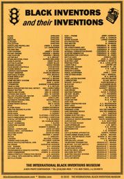 African American Inventors List | ... inventions size 6x14 each black inventors and their inventions african