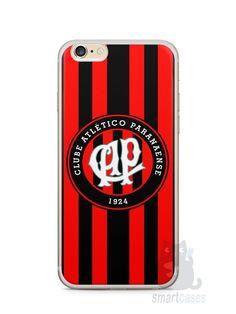 Capa Iphone 6/S Plus Time Atlético Paranaense - SmartCases - Acessórios para celulares e tablets :)