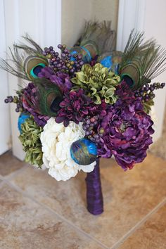 Custom Listing for Jenny  Peacock Wedding by SouthernGirlWeddings. , via Etsy.