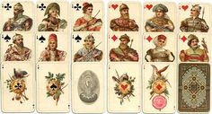 Russian playing cards 1911