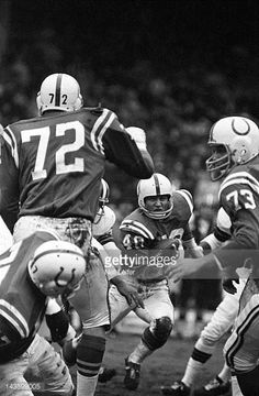 NFL Championship Baltimore Colts Bobby Boyd in action vs Cleveland Browns at Cleveland Municipal Stadium Cleveland OH CREDIT Neil Leifer