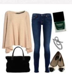 Super cute and cozy fall outfit