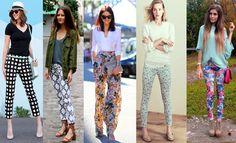 Pantalones estampados: combinaciones y consejos