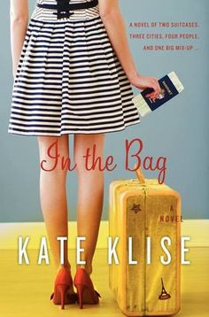 In the Bag by Kate Klise - This book was so good!  It's been such a long time since I couldn't put a book down.  I read it in less than a day.