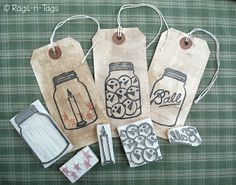 Mason jar hand carved rubber stamp - great idea - link goes to a sales site but these look easy enough to carve myself. Stamp Printing, Screen Printing, Eraser Stamp, Stencils, Stamp Carving, Handmade Stamps, Card Tricks, Love Stamps, Tampons