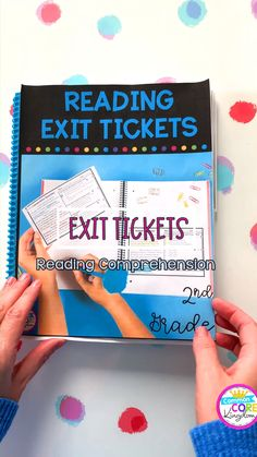 Reading Exit Tickets 2nd, 3rd, 4th, 5th Grades
