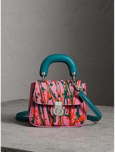 Burberry The Mini DK88 Splash Top Handle Bag  Burberryhandbags Bago, Luxury  Handbags, Designer e861057910