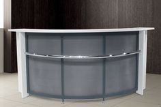 Small Oval Reception Desk How to Build a Reception Desk with Standard Height, Industrial Reception Desk, Reception Desk Designs Small Reception Desk, Reception Desk Design, Office Reception, Nail Salon Design, Nail Salon Decor, Office Set, Home Office Desks, Prayer Room, Home Office Organization