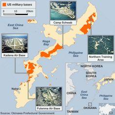 Map Of Okinawa Military Bases New US Military Base In Uzbekistan - Japan map us navy bases