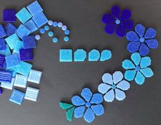 Mosaic Crafts, Mosaic Projects, Mosaic Art, Bead Crafts, Mosaic Glass, Mosaic Tiles, Glass Art, Arts And Crafts, Glass Tiles