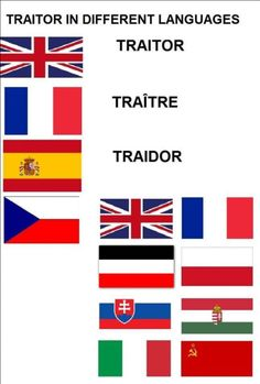 Traitors...