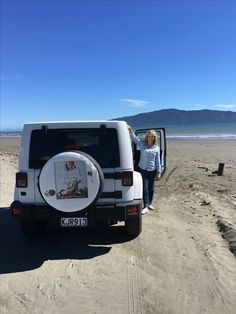 Hanging out on Waikanae Beach in the beautiful sunshine on my way up the west coast of New Zealand on my Essential Tiki-Tour!