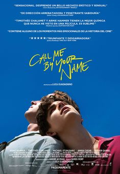 Call Me by Your Name « Film Complet en Streaming VF - Stream Complet Gratis # # Armie Hammer, Entertainment Weekly, Movie Poster Art, New Poster, Poster Wall, Movie Collage, Your Name Full Movie, Andre Aciman, Kino Box