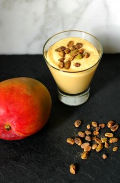 Mango Lassi + Cardamom Toasted Pistachios  http://www.foodandflight.com/recipe-items/mango-lassi-cardamom-toasted-pistachios/