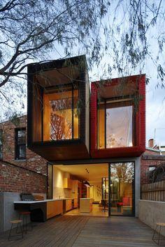 Modernes japanisches Einfamilienhaus  - nachhaltige Architektur und tolles Design