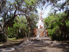 This monumental surprise awaits those who take the time to explore Tomoka River State Park near Ormond Beach, Florida.