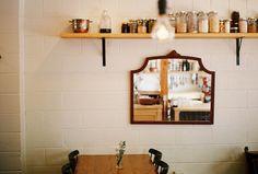 mirror & shelf