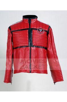 Biker Kobra Kid Red Jacket at Reasonable Price $129.00 My Chemical Romance Leather Motorcycle Jacket for sale. #KobraKidRedJacket #MyChemicalRomance #KobraKid #MotorcycleJacket #RedJacket #LeatherJacket #MensJacket #Jacket