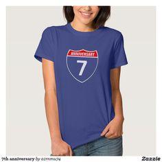7th anniversary tshirt