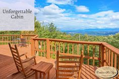 If you're looking for a fun, relaxing place to get away from work and a busy schedule, An Unforgettable Cabin is the perfect Pigeon Forge rental.
