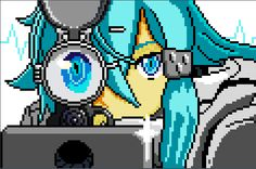 Impressive Pixel Art found in the on-line Gallery of The Sandbox !