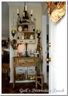 Gail's Decorative Touch: Welcome to my Kitchen