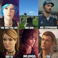 Well, welcome to life is Strange Life Is Strange Fanart, Funny Memes For Him, Funny Pranks, Dontnod Entertainment, Arcadia Bay, Chloe Price, Lgbt, Haha, Books