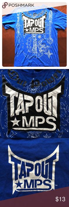Tapout t shirt Shirt shows some wear but front graphics are in great shape! Mma tapout tap out Shirts Tees - Short Sleeve
