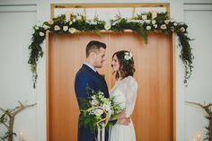 Ethereal Inspiration with flowery garland