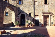 Sorano, Tuscany, Italy. www.italianways.com/sorano-a-matera-in-tuscany/ - Italian Ways