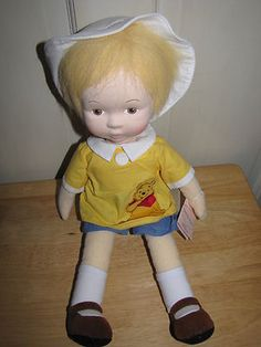 "18"" NWT Madame Alexander Christopher Robin & Pooh BRAND NEW Cloth Doll L@@K!!"