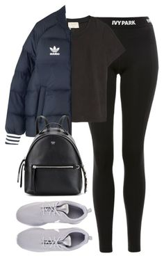 """Untitled #4475"" by magsmccray on Polyvore featuring Ivy Park, adidas Originals, Fendi and NIKE"