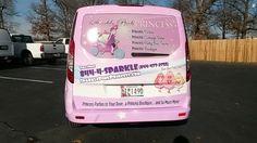 #sparklepinkprincess #princess #pink #sparkle #wrap #vinylwrap #customwrap #carwrap #vehiclewrap