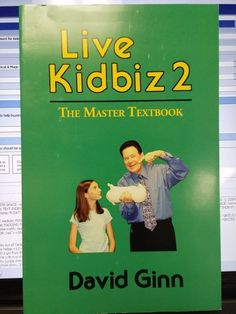 Live Kidbiz 2 David Ginn Book Entertainment for Kids Children Magic Show Please check out all our rare value priced Magic tricks & Books at: http://stores.ebay.com/webrummage