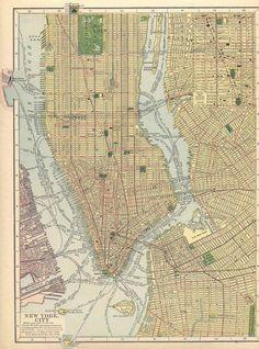 New York City in 1910.